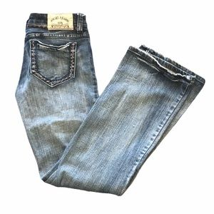 Angel Jeans midrise bootcut jeans 9